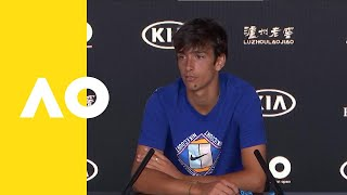 Lorenzo Musetti press conference (F) | Australian Open 2019