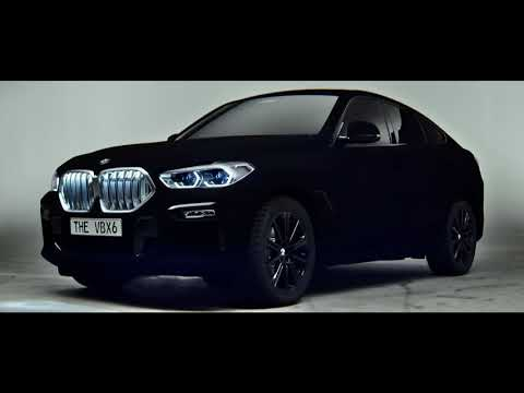 BMW takes the world's blackest paint out for a spin | Creative Bloq
