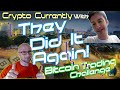 Crypto Currently - Liquidity Attracts Price: Gravity with Bitcoin Trading Challenge
