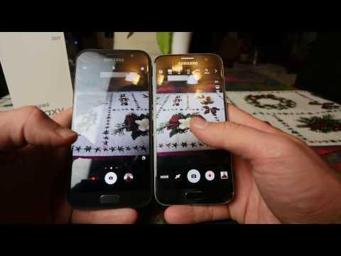 Samsung Galaxy A5 2017 vs. Galaxy S7 összehasonlitó