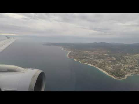 American Airlines A320 Approach And Landing Into San Jose Del Cabo / Los Cabos (SJD)