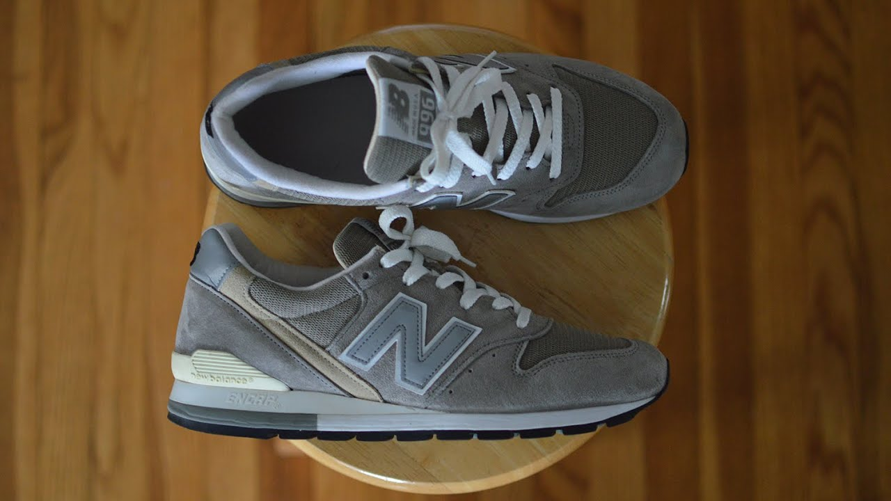 An Essential New Balance Sneaker! | New Balance 996 'Grey' Made in USA (M996) Review!