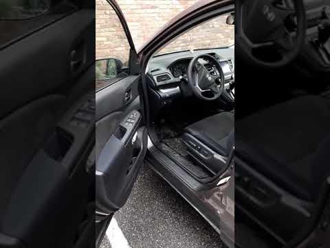 How to open hood or bonnet in a Honda CR-V 2012-2018 model