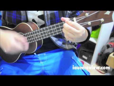 [HD]UKULELE Cover ร่มสีเทา วัชราวลี คอร์ดง่ายๆ