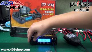 Pofung БФ-9500 УВЧ 400-470 МГц мобільного радіозв'язку (автомобільні трансивери)