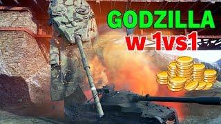 GODZILLA w 1vs1 - Turniej o 5000 Złota - World of Tanks