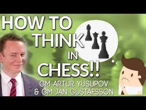How to Think in Chess: 🤔 Prophylactic Thinking with GM Artur Yusupov & GM Jan Gustafsson  [chess24]