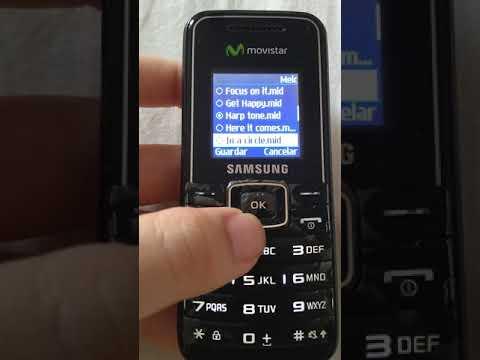 Samsung GT-E1050 (telefonica - Movistar) ringtones