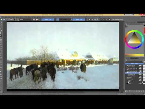 Creating Focal Points using Contrast
