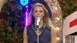 Agnes Carlsson - One Last Time (allsång på skansen) 2012 (HD)