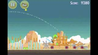 Angry Birds   3 Star Walkthrough   Level 13-13