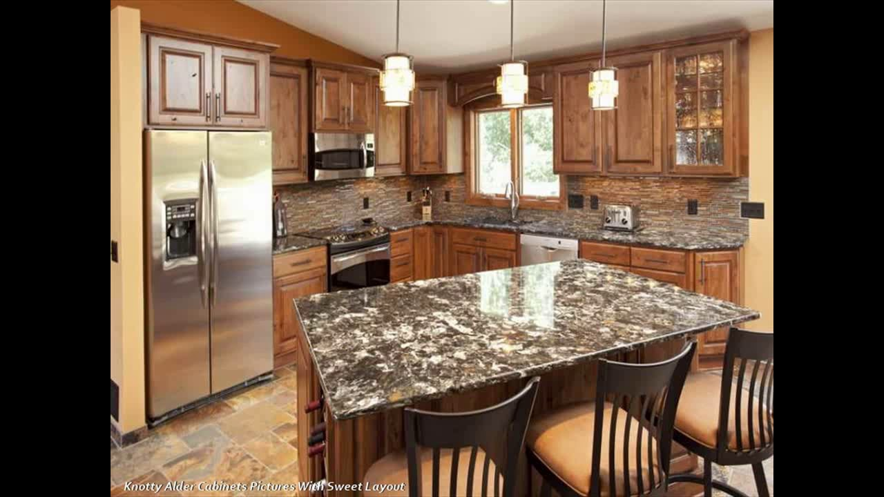 Knotty Alder Cabinets Pictures For Kitchen Space Style Youtube
