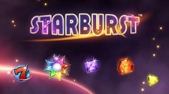 Starburst & 100 free spins