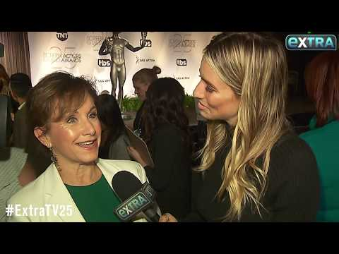 SAG-AFTRA President Gabrielle Carteris Talks SAG Awards 25th Anniversary