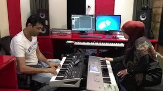العازفة الموهوبة فاطمة القلا مع طلال الداعور Talal Daour - Fatima Al Kala
