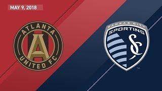 HIGHLIGHTS: Atlanta United FC vs. Sporting Kansas City | May 9, 2018