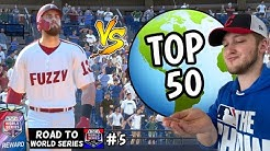 i matched up against a top 50 PLAYER. and i showed up! ROAD TO WORLD SERIES #5 (MLB the show 20)