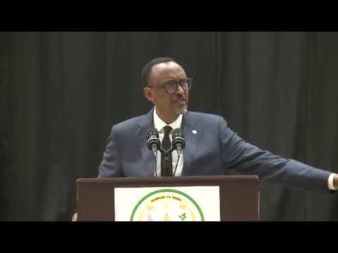Perezida Kagame yongeye kwamaganira kure raporo ya Human Rights Watch