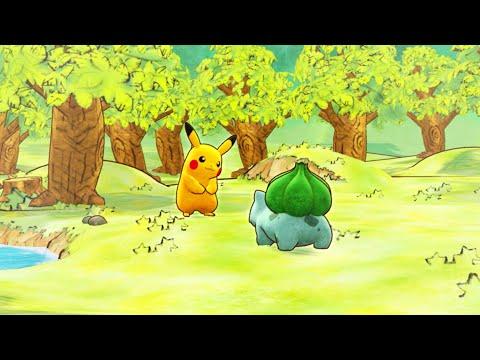 Trailer Dell'annuncio Di Pokémon Mystery Dungeon: Squadra Di Soccorso DX