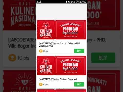 Infinity Spam Voucher Kuliner Nasional Gofood gojek