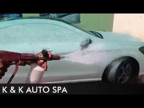 mercedes foam wash pune