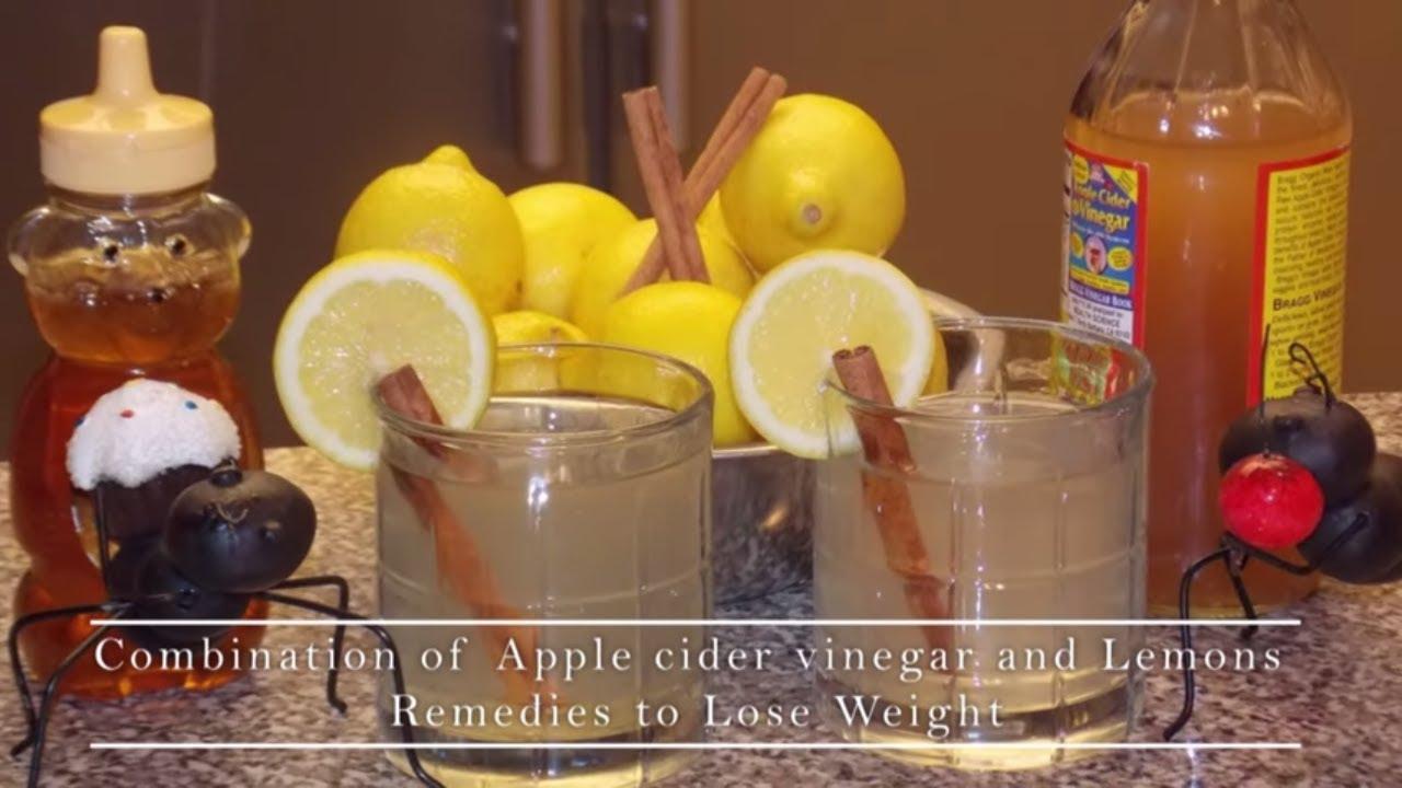Lose Weight In 2 Weeks By Drinking Apple Cider Vinegar Lemon Juice