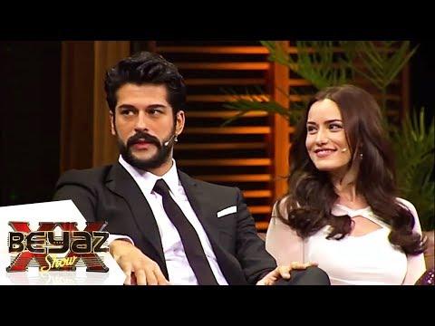 Fahriye Evcen ve Burak Özçivit'in Aşk Hikayesi - Beyaz Show