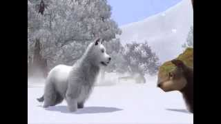 Balto The White Wolf Scene Sims 3 version