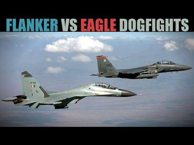 Flanker vs Eagle 8 vs 8 PvP   Guns-Only Red vs Blue Dogfights   DCS