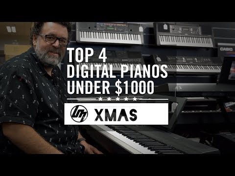 Top 4 Digital Pianos Under $1,000 For Christmas 2019   Better Music