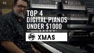 Top 4 Digital Pianos under $1,000 for Christmas 2019 | Better Music