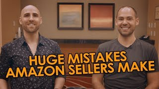 HUGE MISTAKES Amazon Sellers Make When Picking Their First Product (So You Can Avoid Them 🚫)