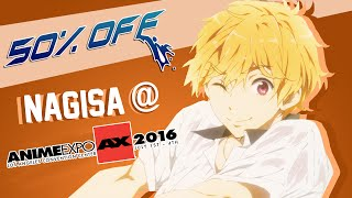 50% OFF: Nagisa @ Anime Expo 2016 | Octopimp​​​