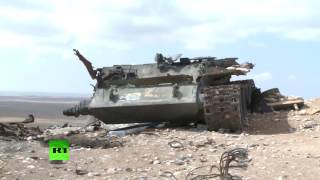 Гильзы и тела детей-боевиков: что террористы оставили на поле боя в Пальмире