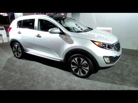 2012 KIA Sportage T GDI Exterior and Interior at 2012 New York International Auto Show