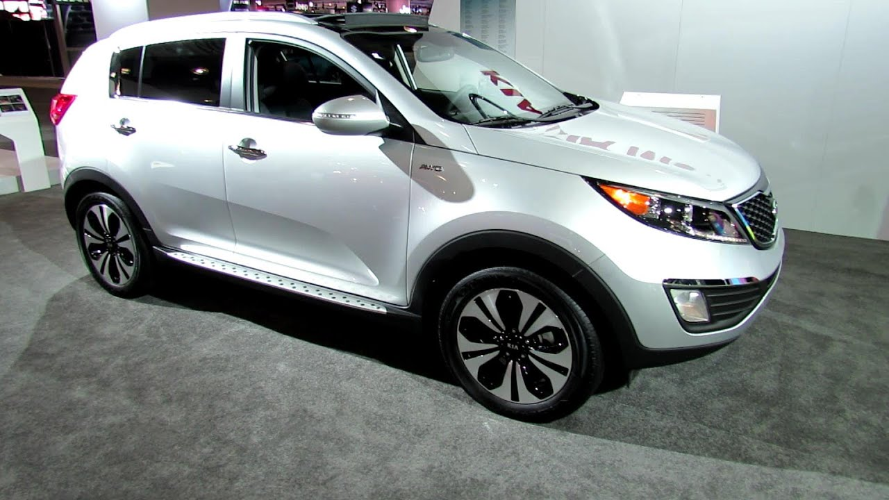 2012 kia sportage t gdi exterior and interior at 2012 new york international auto show youtube. Black Bedroom Furniture Sets. Home Design Ideas