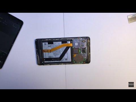 Lenovo K6 Note - разборка / Disassembly