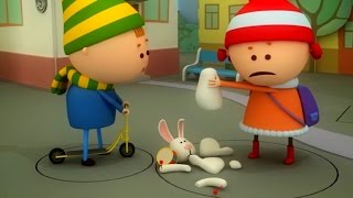 Аркадий Паровозов спешит на помощь - Почему нельзя покупать игрушки в метро - мультфильм детям