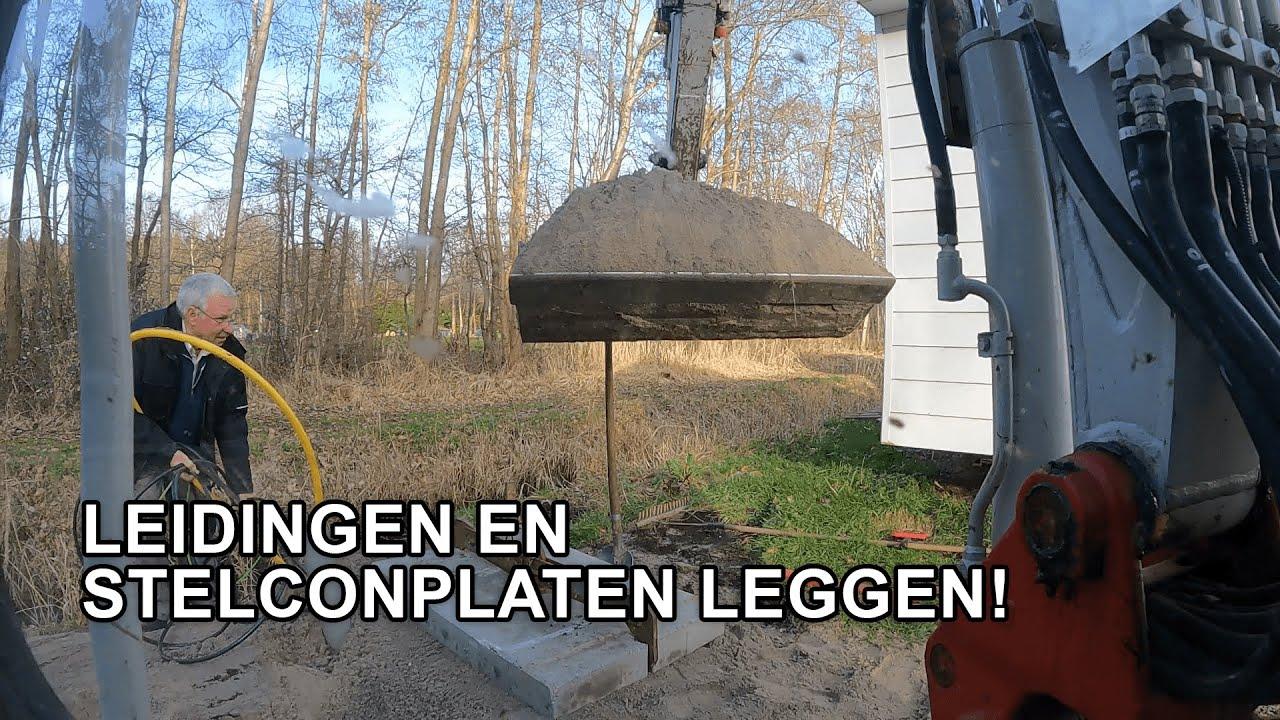 Download LEIDINGEN EN STELCONPLATEN LEGGEN!