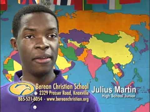 Berean Christian School_Student Interview_Julius Martin