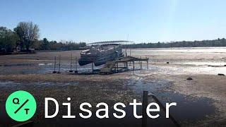 Michigan Floods: Midland Lake Left Nearly Empty After Dam Fails