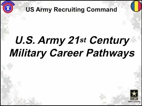 U.S. Army 21st Century Military Career Pathways