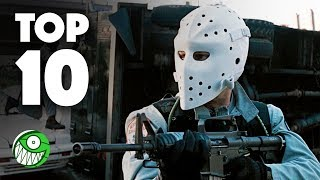 Las 10 mejores películas sobre ROBOS A BANCOS