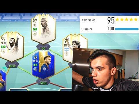 195 FUT DRAFT *EL MEJOR FUT DRAFT* De FIFA 19 RECORD MUNDIAL - MIKING