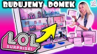 DOMEK LOL SURPRISE!  !!!! NOWOŚĆ !!!!  WOOOOOOW ALE MEEEEGA DOMEK! Opening z lalkami
