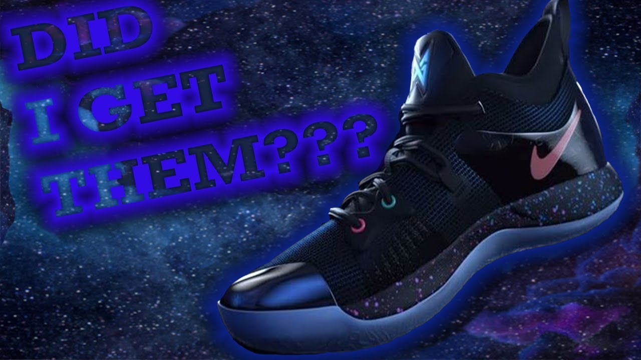 c376d262765 PAUL GEORGE-DID I GET THE PG2 COLORWAY PLAYSTATION NIKES    - YouTube