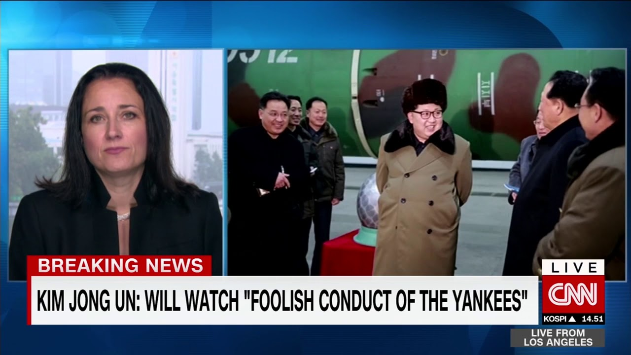 Kim Jong Un says he 'will watch foolish yankees'