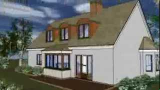 Traditional Style Home, 3 Bedrooms, Brick, Stucco And Wood Shingle