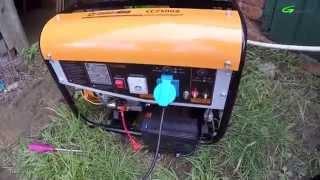 Обзор и запуск газового генератора GazLux CC2500 S