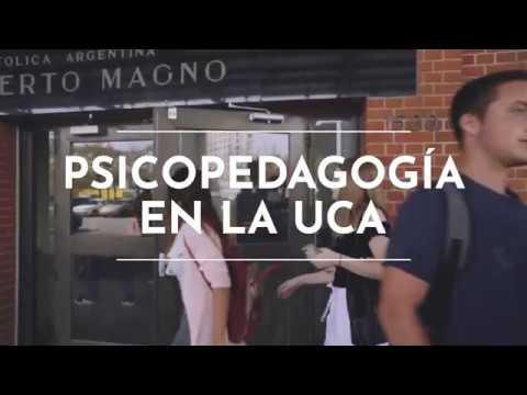 Psicopedagogía en la UCA